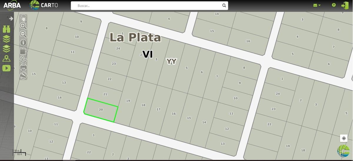 lote en venta en city bell   barrio la cañada (467y160)