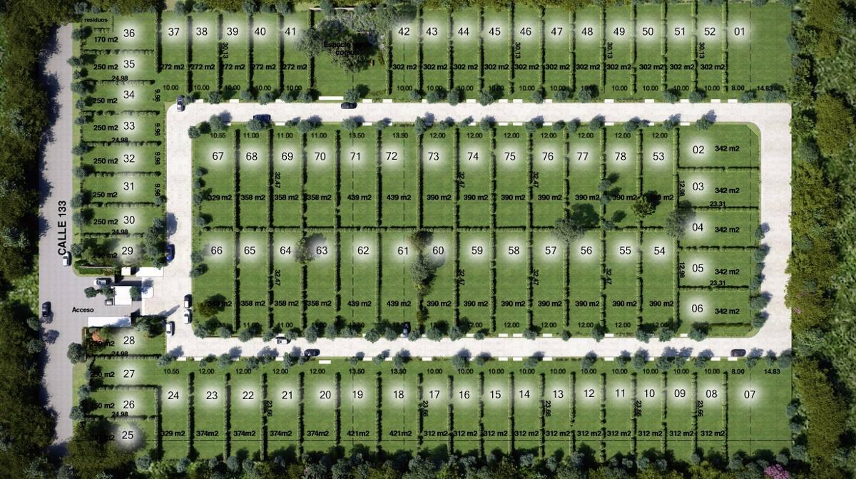 lote en venta en gorina | 133 y 478 el roble (uf. 43)