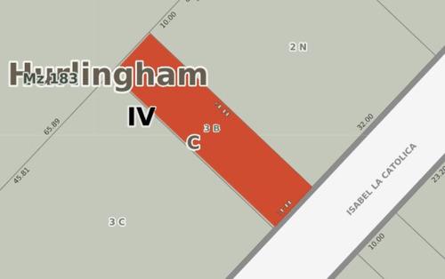 lote en venta en hurlingham