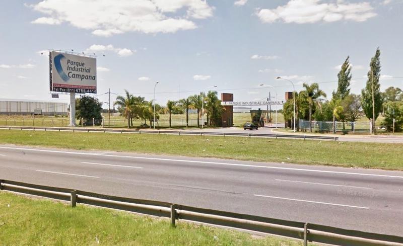 lote en venta en parque industrial campana 10.508 m2. financiación