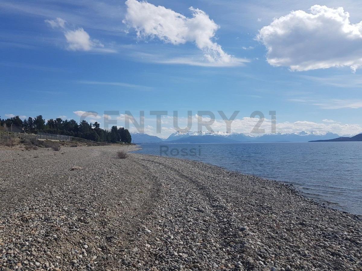lote en venta financiado sobre costa de lago nahuel huapi - dina huapi