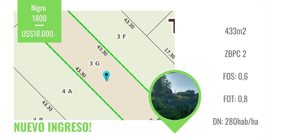 lote en venta| nigro 1800 | villa aguirre |tandil