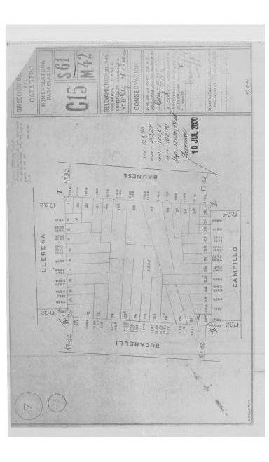 lote en venta - parque chas - bucarelli 1191