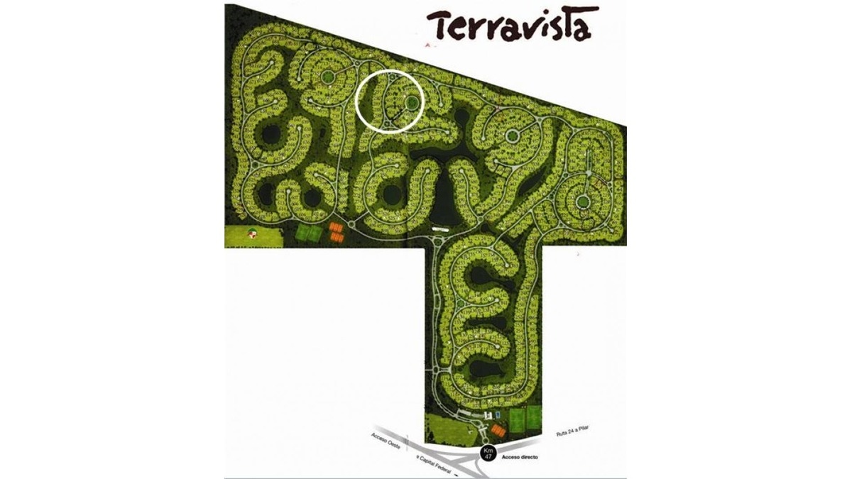 lote en venta :: terravista :: 1041 m2