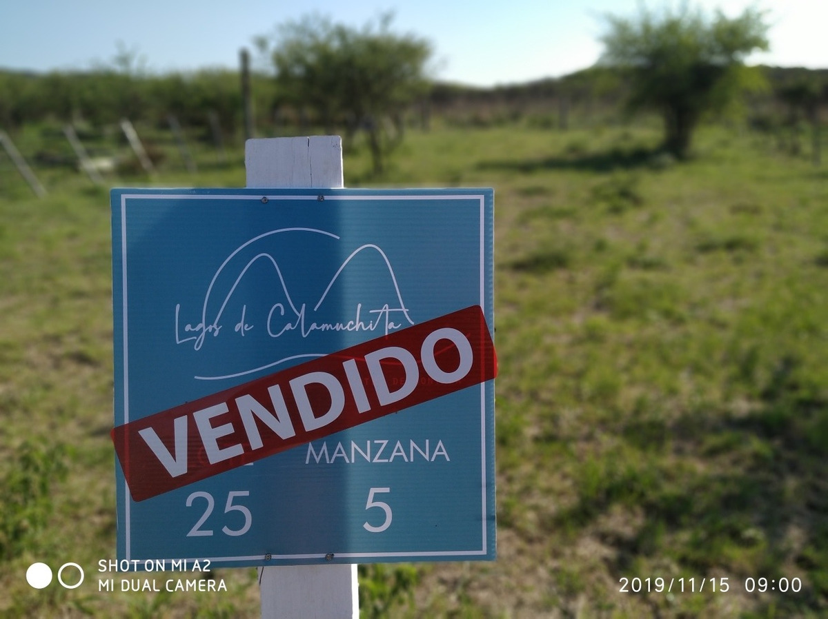 lote en villa rumipal calamuchita financiacion
