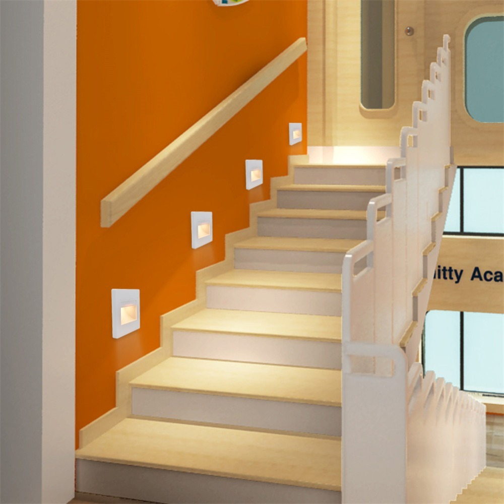Lote env o gratis lampara led escalera pared cortes a 1 en mercado libre - Escaleras con led ...