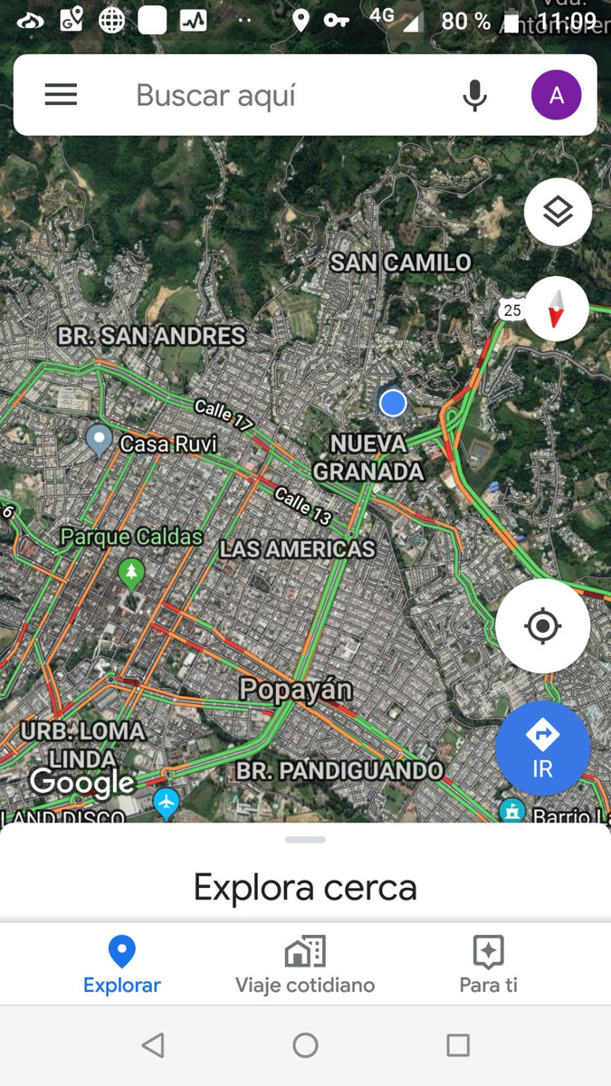 lote esquinero, zona urbana de popayán