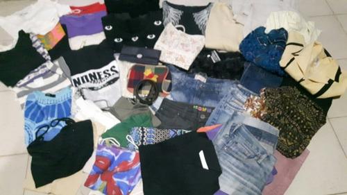 lote fardo ropa usada mujer feria americana x 80 prendas