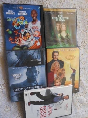 lote fechado 9 dvd's importados tudo original muito barato