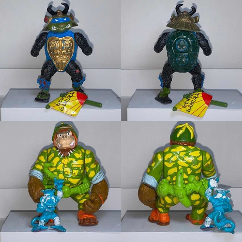 lote figuras tortugas ninja vintage tmnt
