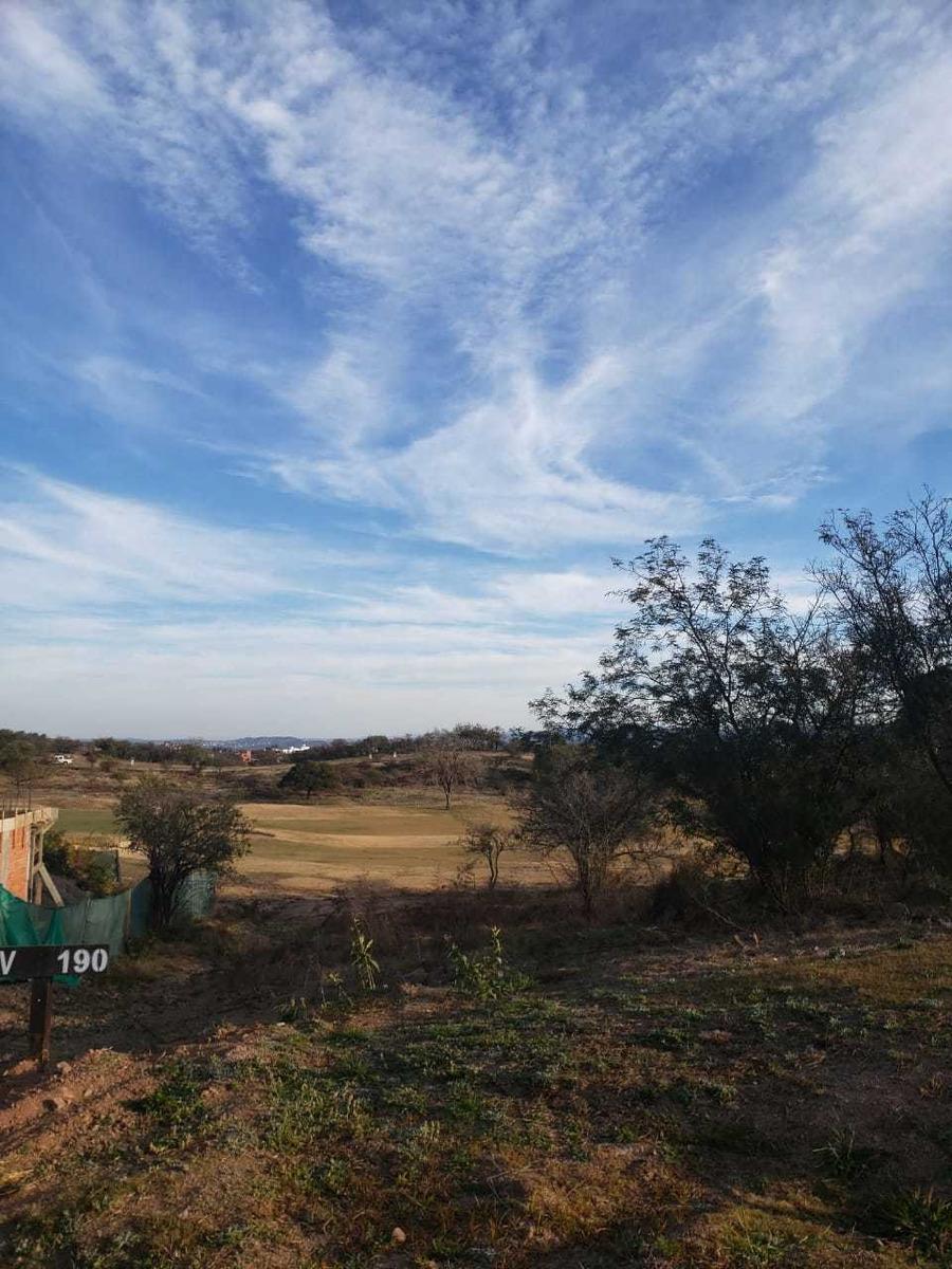 lote fondo golf en el terrón mendiolaza