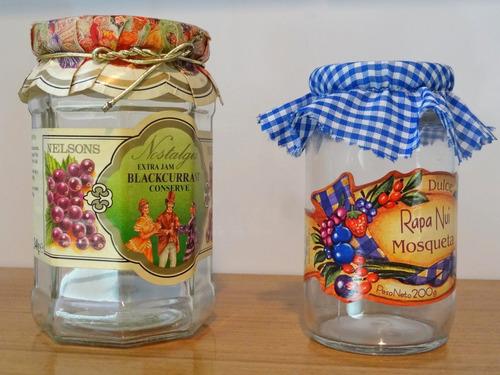 lote frascos  cocina super decorativos de vidrio vacíos