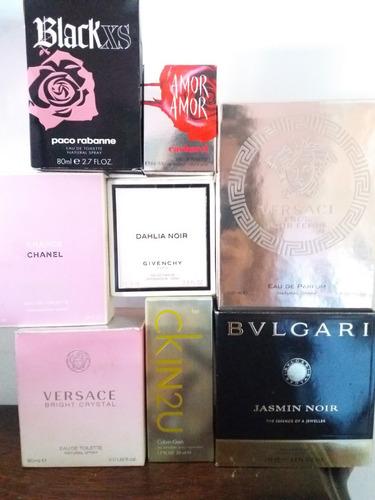 lote frascos de perfume oportunidad!!
