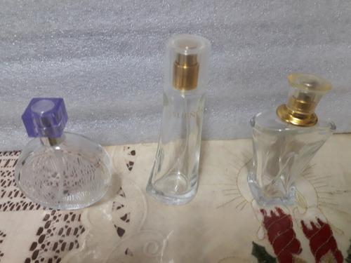 lote frascos vacíos de perfumes