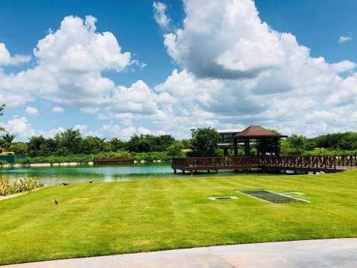 lote frente a campo de golf privada kanha country club yucatán