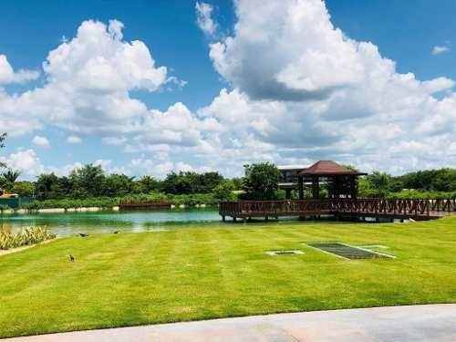 lote frente a campo del golf de 779m2 en kanha country club
