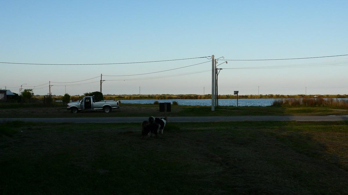 lote frente al lago en mar de cobo