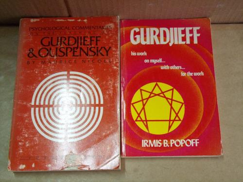 lote gurdjieff - dois livros em inglês