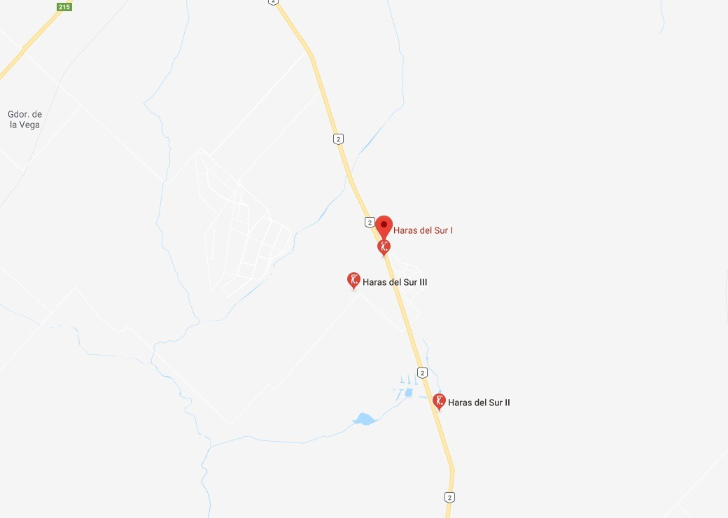 lote haras del sur / ruta 2 km 69  / terreno de 1.000 m2 / u
