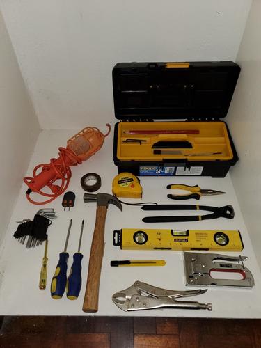 lote herramientas, sierra, pinzas, destornilladores
