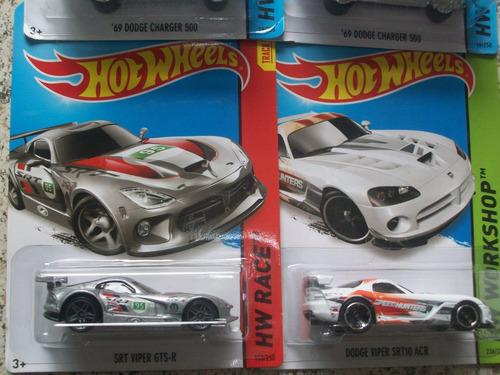 lote hot wheels dodge 4 modelos