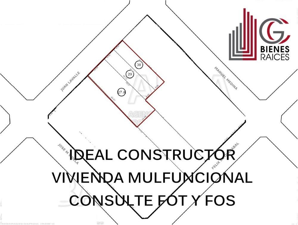 lote ideal construccion ituzaingo centro