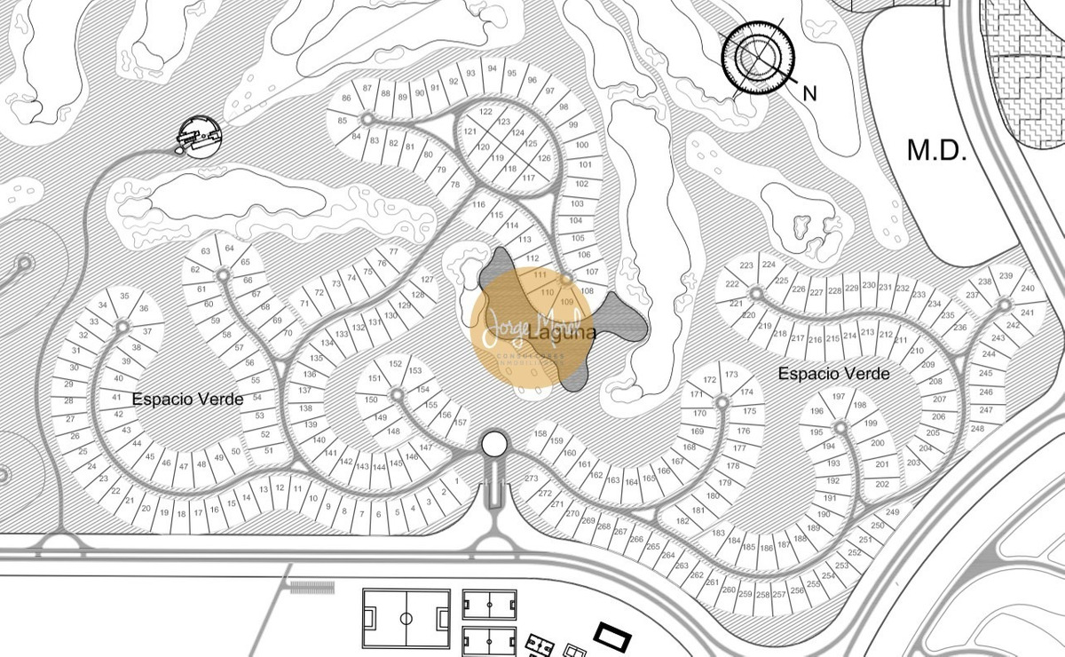 lote interno #0-100 - san sebastian - area 2 - 844m2 #id 584