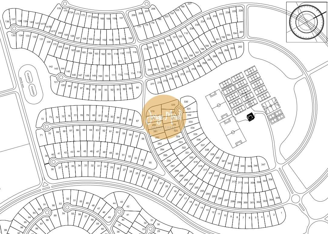 lote interno #100-200 - costa esmeralda - deportiva - 1015m2 #id 19195