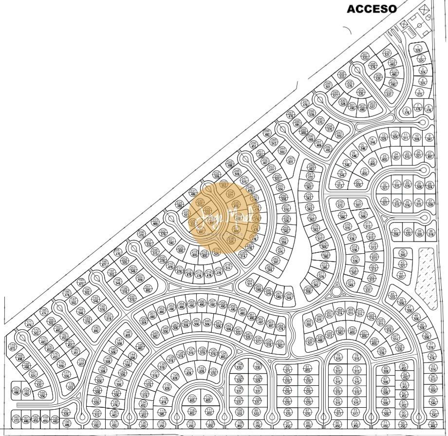 lote interno #100-200 - pilar del este - santa emilia - 533m2 #id 18135