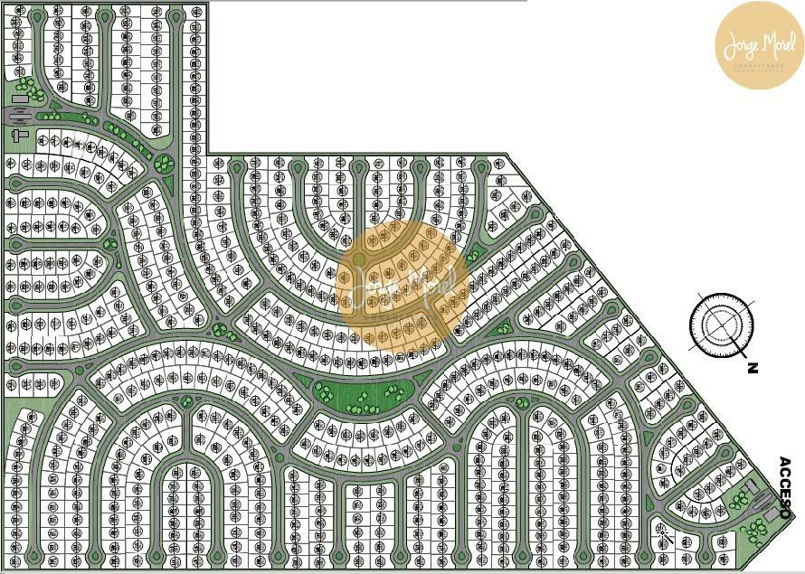 lote interno #400-500 - pilar del este - san ramon - 450m2 #id 16738