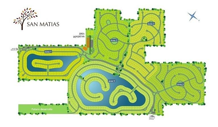 lote interno #500-600 - san matias - area 3 - 779m2 #id 13017