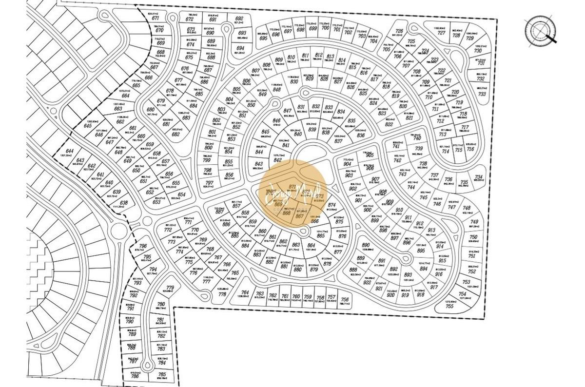 lote interno #600-700 - san matias - area 4 - 858m2 #id 13150
