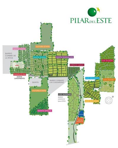 lote interno al verde - pilar del este - santa elisa