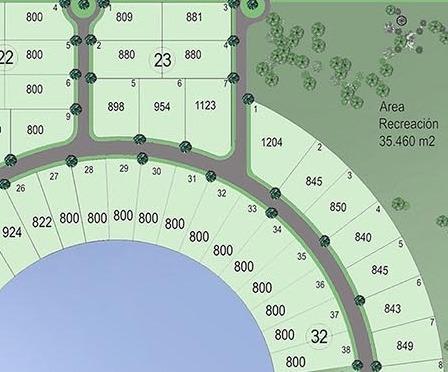 lote  interno canning santa rita  1123 m2.  dueño directo .