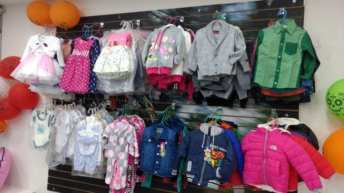 lote inventario de ropa y accesorios para bebe niño y junior