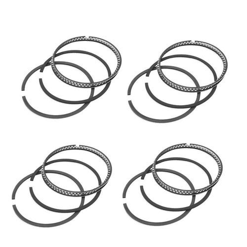 lote jogo anéis segmento alfa romeo 156 2.0 16v 99/... gas