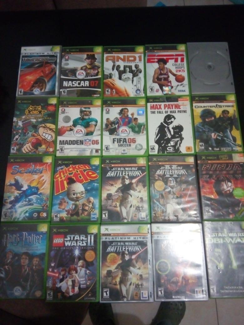Lote Juegos Xbox Clasico Juegos Starwars Ninga Gaiden Black