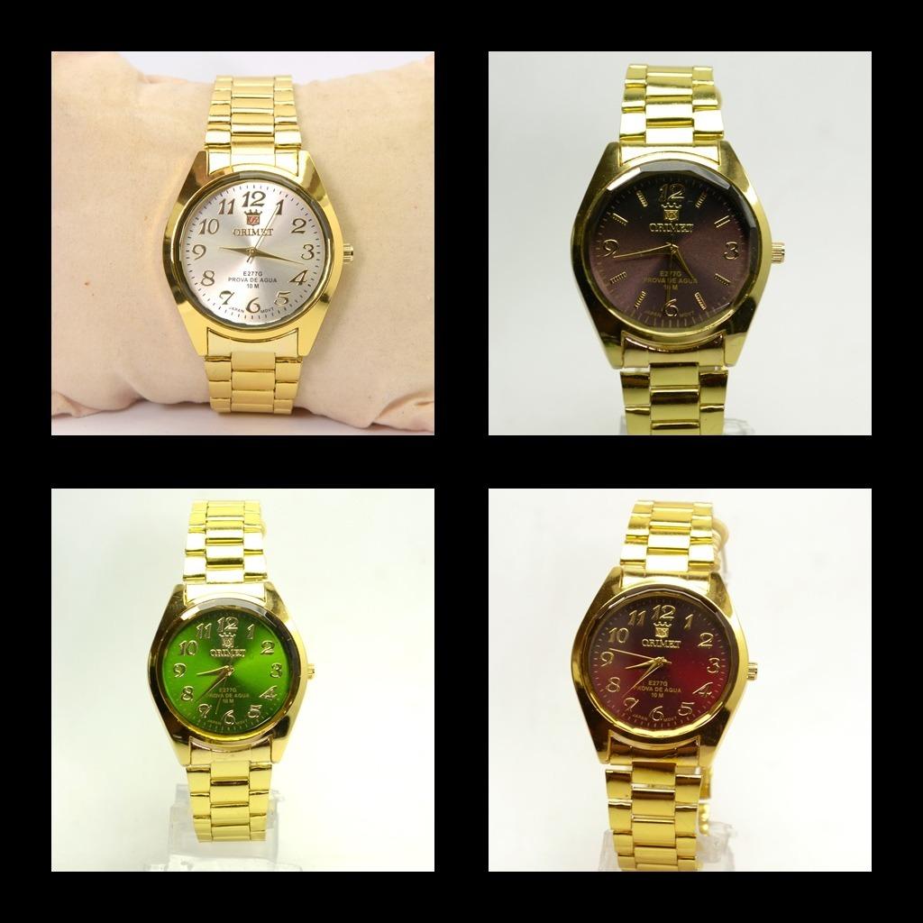 ca80c8515cc Lote Kit 10 Relógios Baratos Feminino Atacado Com Caixinha. - R  365 ...