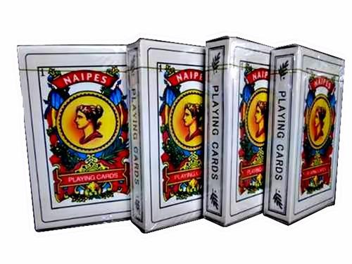 lote kit 12 baralho espanhol truco escova bisca místico
