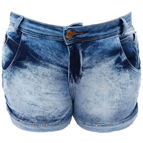 65b316d6017664 Lote Kit 2 Shorts Jeans Feminina Cintura Baixa Ponta D Estq