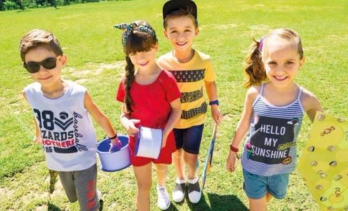 lote kit 20 roupas infantis rovitex kids, trick nick atacado