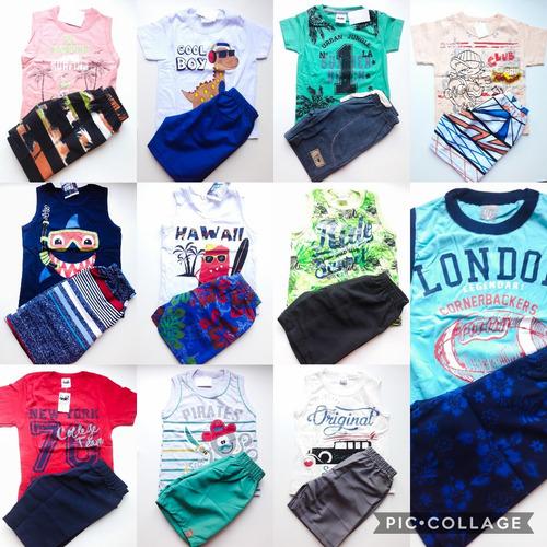 lote kit roupa infantil menino 10 conjunto masculino atacado