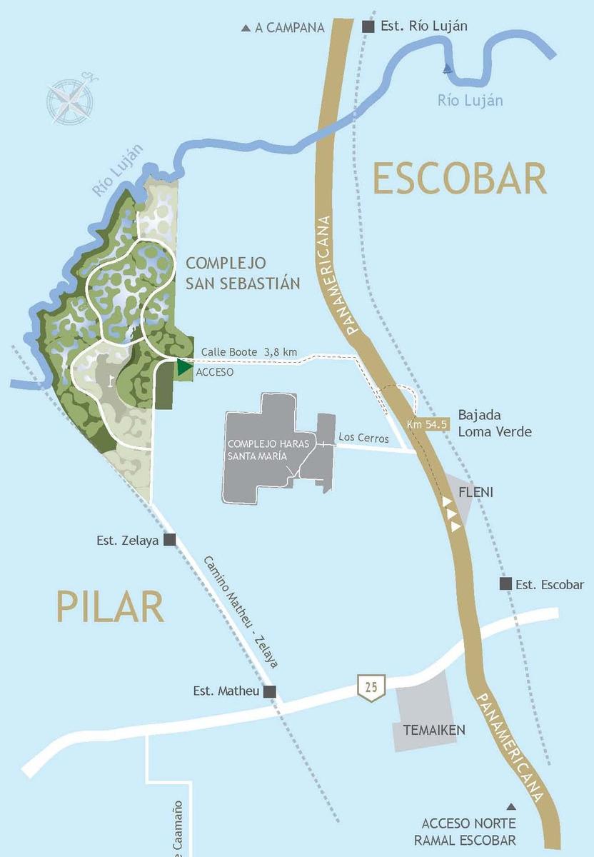 lote laguna #200-300 - san sebastian - area 6 - 992m2 #id 1358