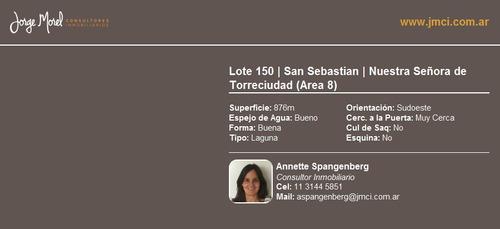 lote laguna - san sebastian - nuestra señora de torreciudad (area 8)
