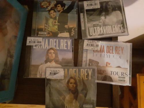 lote lana del rey 5 cds