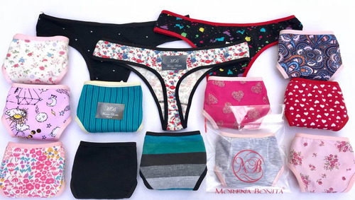 lote lencería femenina 48 prendas envio gratis morena bonita