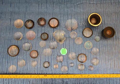 lote lentes y lupas, varios estilos y tamaños 003