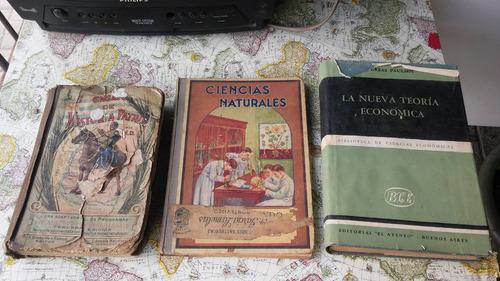 lote libros antiguos