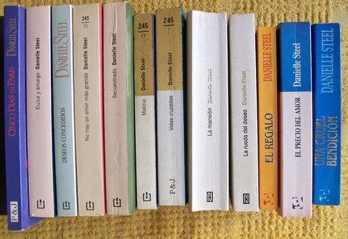 lote libros danielle steel - como nuevos - envíos