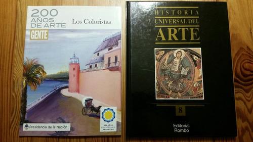 lote libros de arte excelente estado